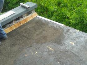 New Built Up Felt Flat Roof